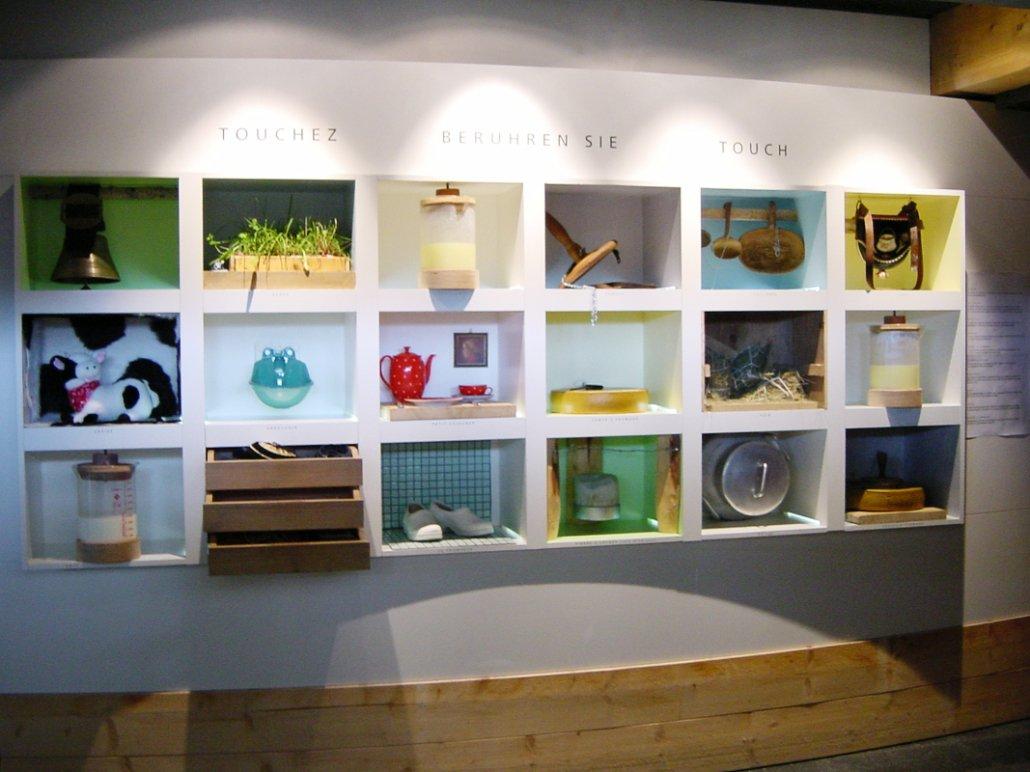 La maison du gruyère interactive exhibition