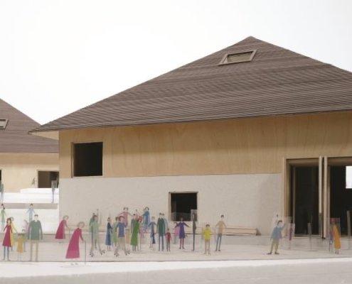 Nouvelle Maison du Gruyère côté entrée web